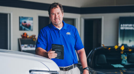 CDK DRIVE FLEX HELPS BOB ROGERS CHEVROLET RETAIN CUSTOMERS AND DRIVE REVENUE.