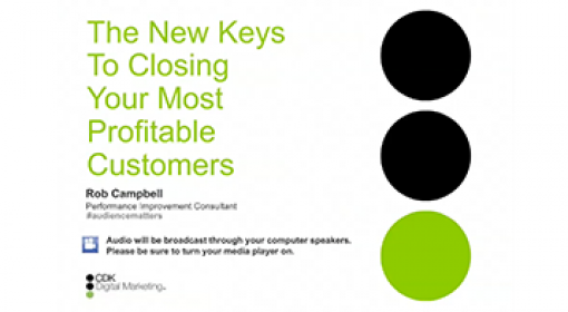 New Keys to Closing Your Most Profitable Customers