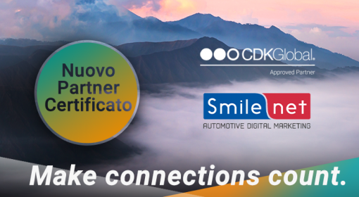 Media Center Smilenet è un Partner certificato CDK Global