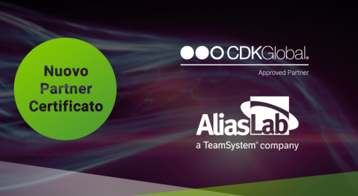 Media Center ALIASLAB È UN PARTNER CERTIFICATO CDK GLOBAL