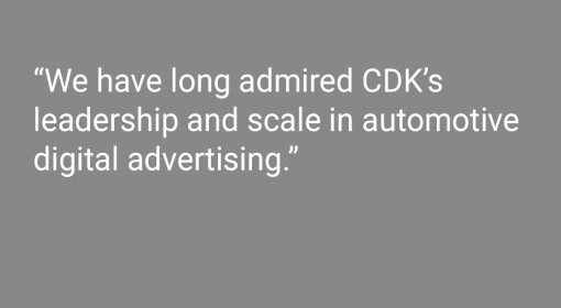 Media Center CDK Global Acquires Progressus Media