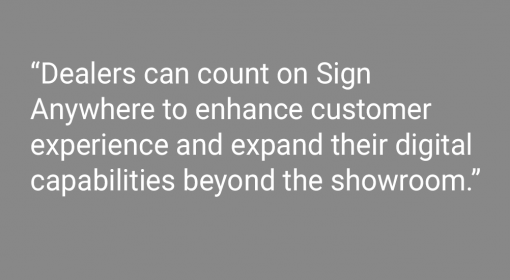 Media Center New CDK Sign Anywhere Solution Offers Dealerships and Their Customers Secure, Quick and Convenient Remote Signing Capabilities